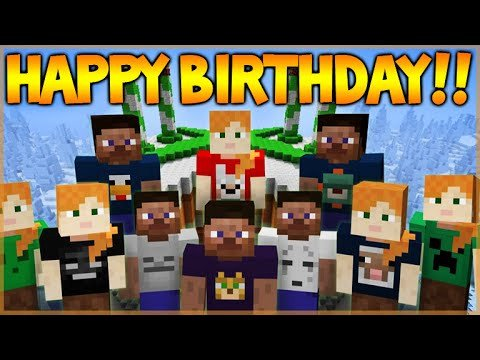 Minecraft Happy Birthday Images Happy 4th Birthday Minecraft Xbox 360 Edition New
