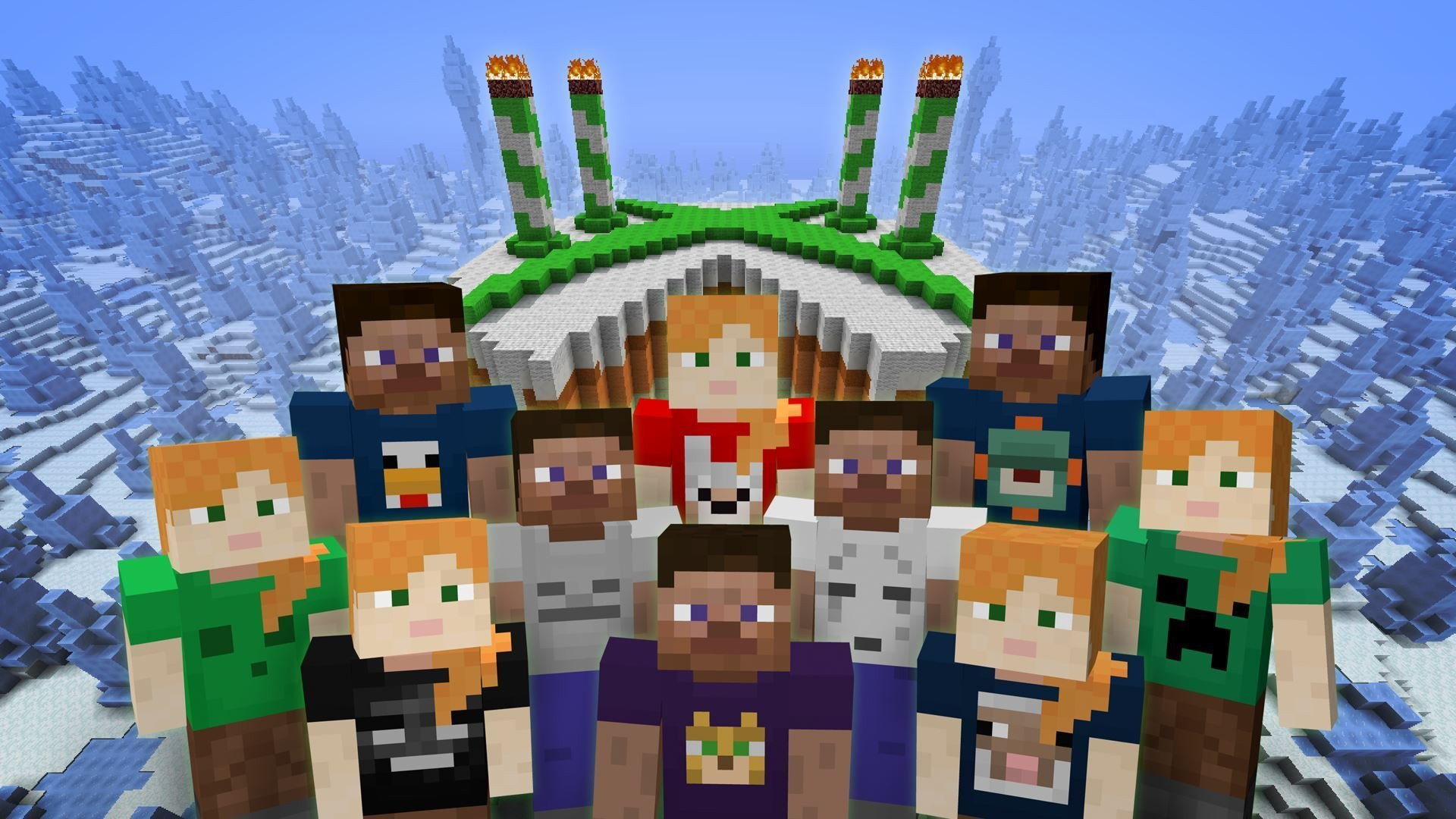 Minecraft Happy Birthday Images Happy Birthday Minecraft Gimme some Skin