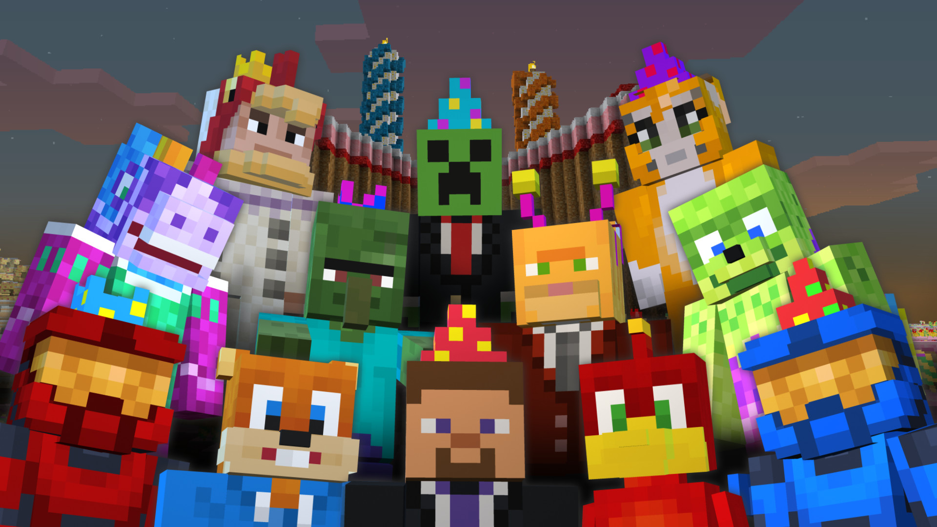 Minecraft Happy Birthday Images Happy Birthday Minecraft Xbox 360 Edition