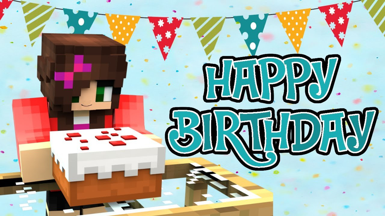 Minecraft Happy Birthday Images Minecraft Happy Birthday Map