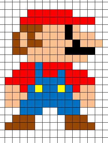 Minecraft Pixel Art Template Minecraft Pixel Art