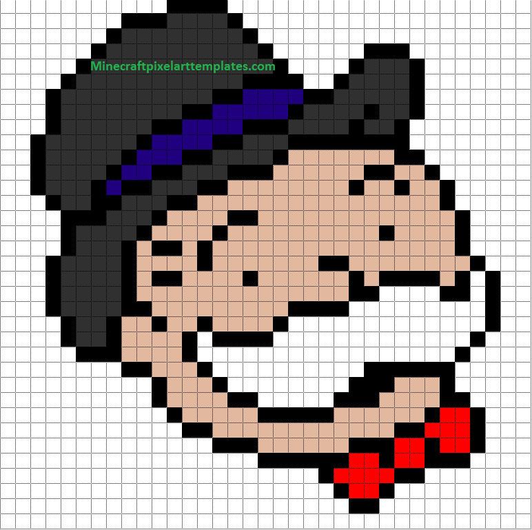 Minecraft Pixel Art Template Minecraft Pixel Art Templates
