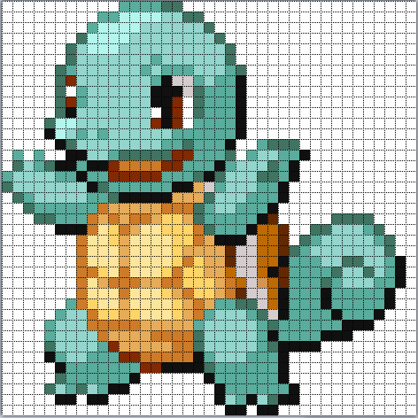 Minecraft Pokemon Pixel Art Grid Minecraft Pixel Art Album On Imgur