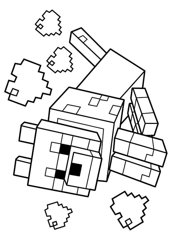 Minecraft Printable Coloring Pages 40 Printable Minecraft Coloring Pages