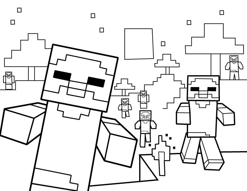 Minecraft Printable Coloring Pages Minecraft Coloring Pages Best Coloring Pages for Kids