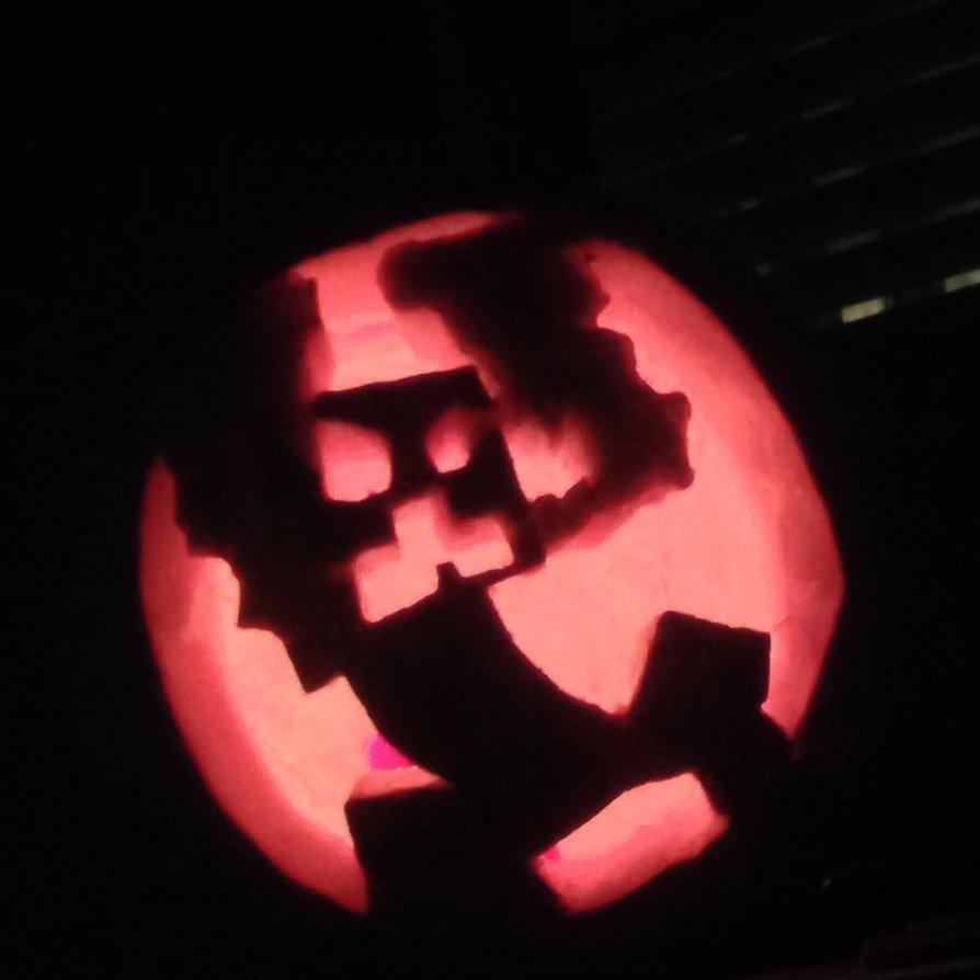 Minecraft Pumpkin Stencils 11 Best S Of Minecraft Creeper Pumpkin Carving