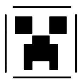 Minecraft Pumpkin Stencils Minecraft Creeper Stencil