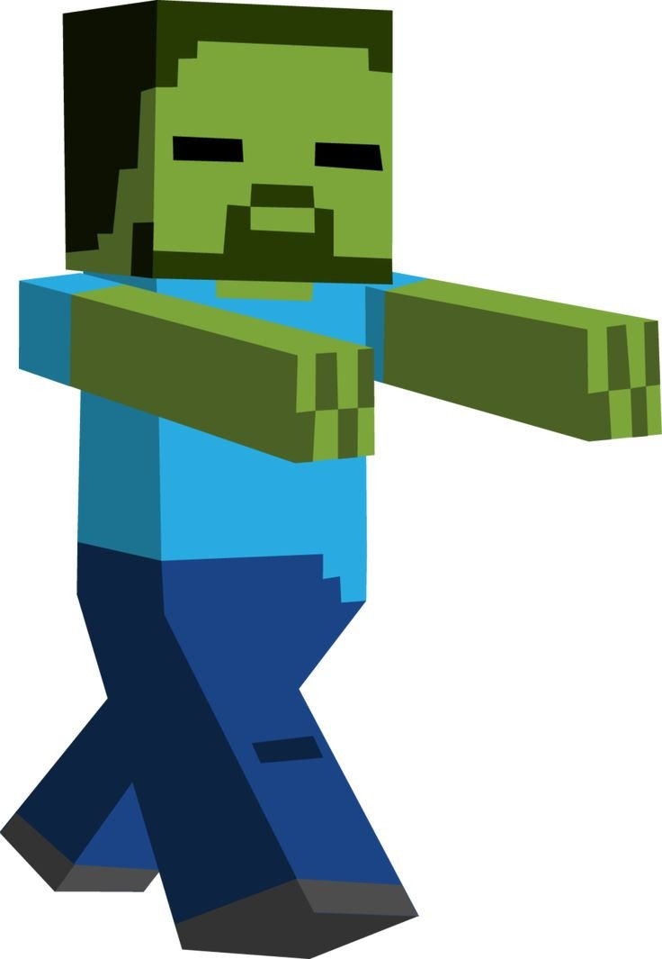 Minecraft Zombie Template 12 Best Images About Minecraft On Pinterest
