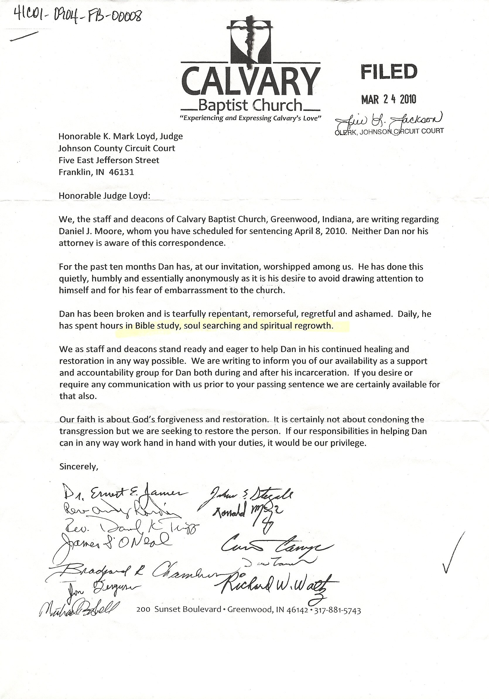 Ministry Support Letter Template April 2010 – Page 2 – Irreligion