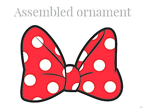 Minnie Mouse Bow Template Minnie Mouse Bow Silhouette at Getdrawings
