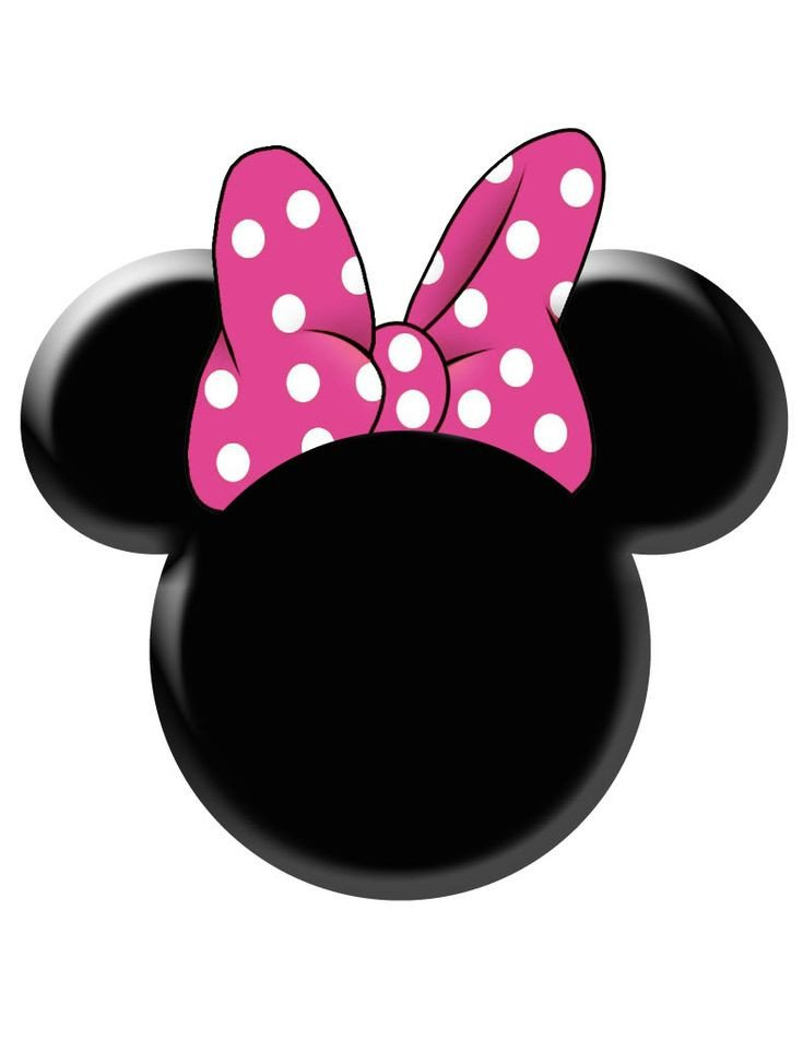 Minnie Mouse Bow Template Minnie Mouse Bow Stencil