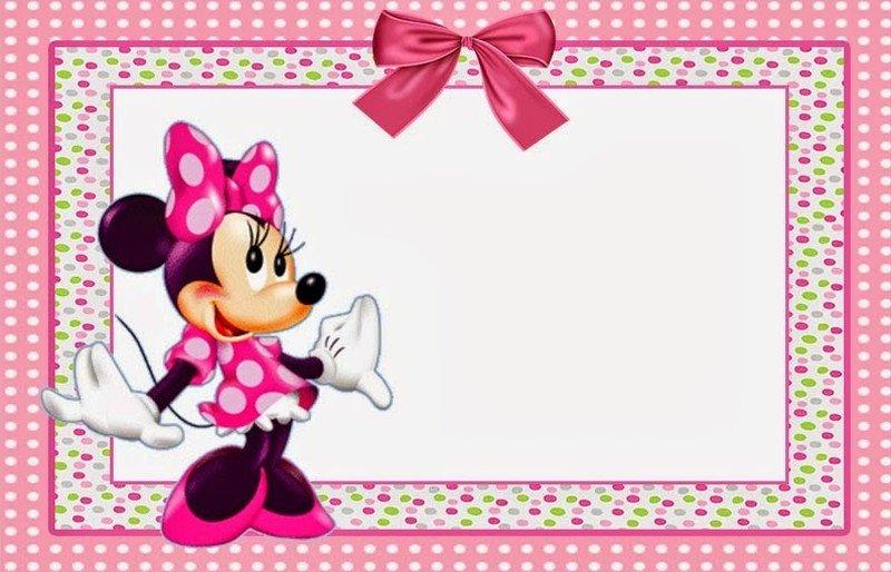 Minnie Mouse Invitation Maker Minnie Mouse Free Printable Invitation Templates