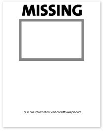 Missing Person Poster Template Lyndsayoutloud S A2 Media Missing Poster Ideas