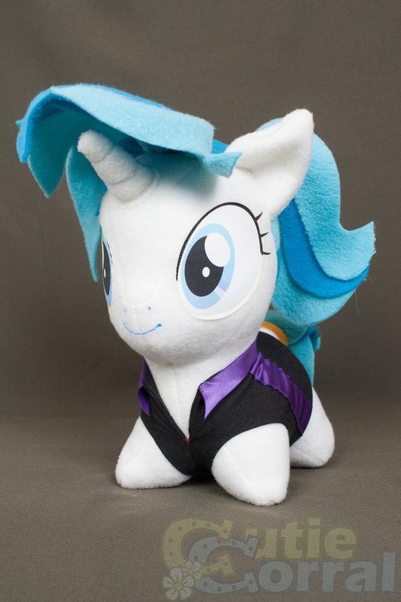 Mlp Chibi Plush Chibi Allie Way Mlp Hand Made Custom Craft Plush