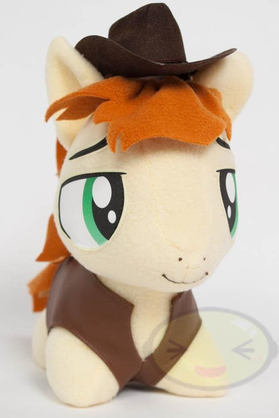 Mlp Chibi Plush Chibi Braeburn Mlp Hand Made Custom Craft Plush by Cutiecorral