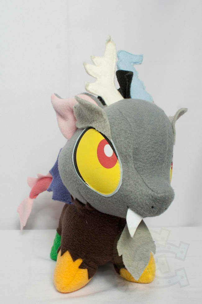 Mlp Chibi Plush Chibi Discord Mlp Hand Made Custom Craft Plush