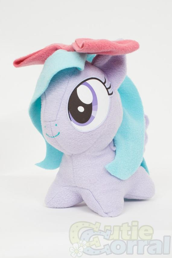 Mlp Chibi Plush Chibi Flitter Mlp Hand Made Custom Craft Plush