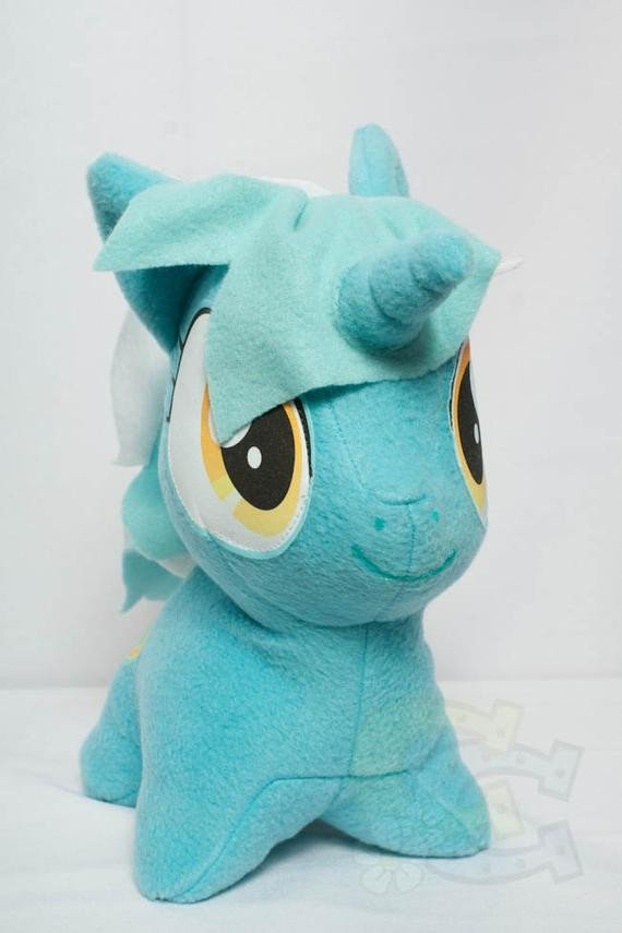 Mlp Chibi Plush Chibi Lyra Mlp Hand Made Custom Craft Plush