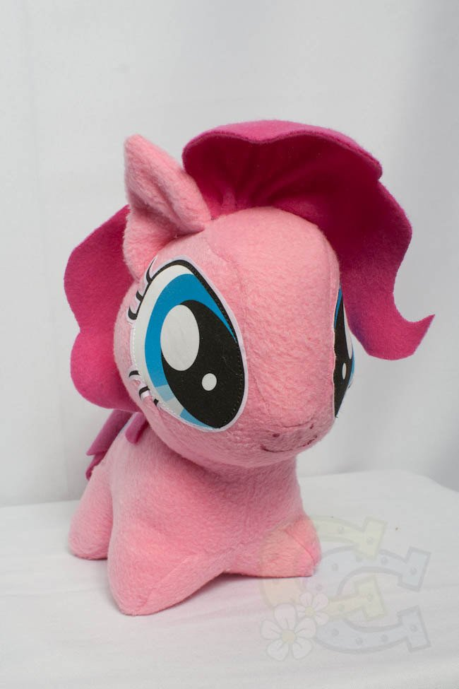 Mlp Chibi Plush Chibi Pinkie Pie Mlp Hand Made Custom Craft Plush