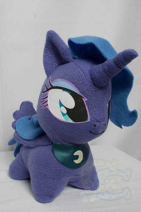 Mlp Chibi Plush Chibi Princess Luna Mlp Hand Made Custom Craft Plush