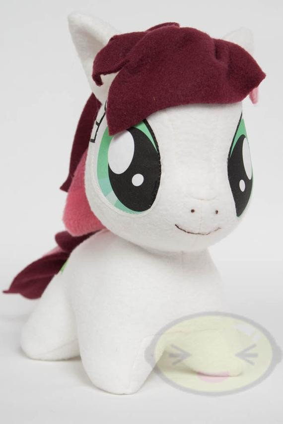 Mlp Chibi Plush Chibi Roseluck Mlp Hand Made Custom Craft Plush by Cutiecorral