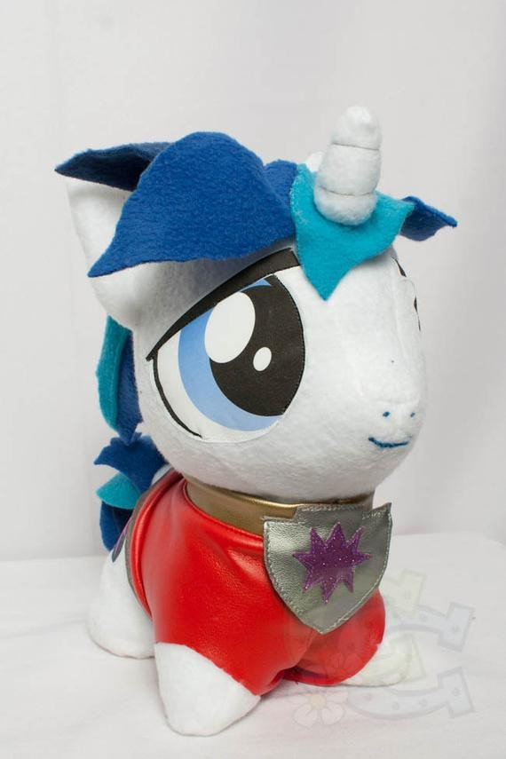 Mlp Chibi Plush Chibi Shining Armor Mlp Hand Made Custom Craft Plush