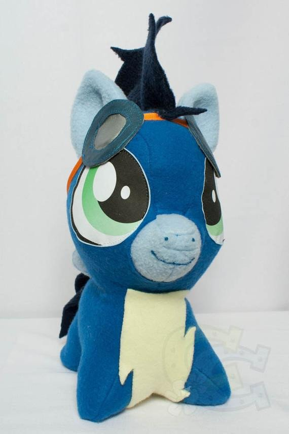 Mlp Chibi Plush Chibi soarin Mlp Hand Made Custom Craft Plush