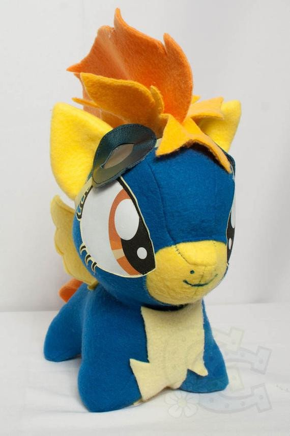 Mlp Chibi Plush Chibi Spitfire Mlp Hand Made Custom Craft Plush