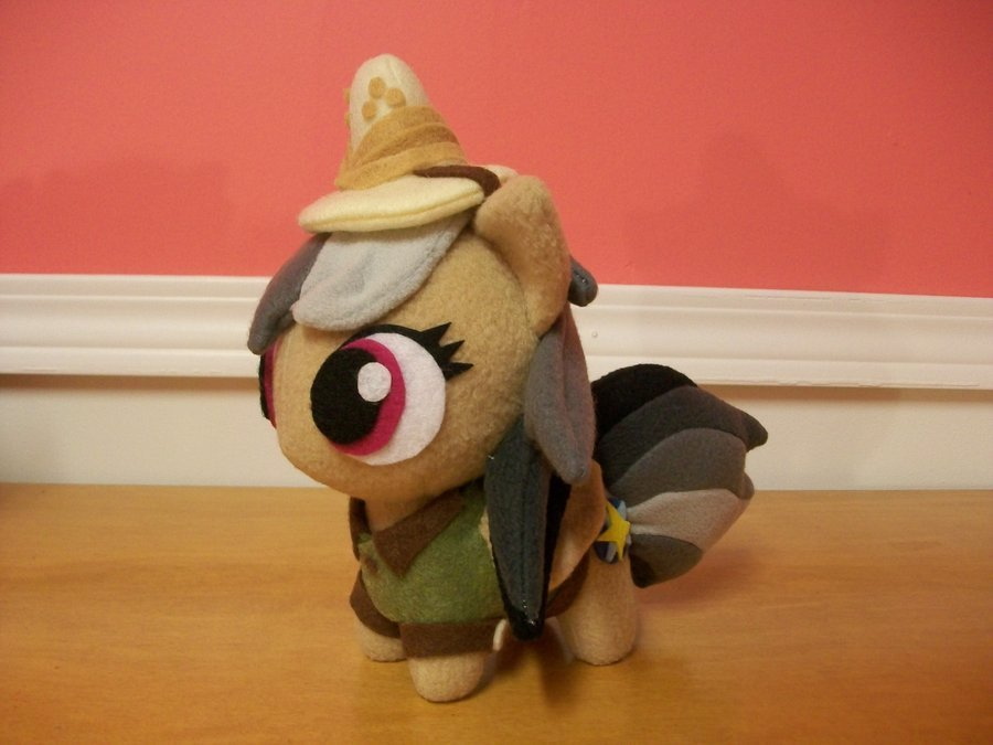 Mlp Chibi Plush Daring Do Chibi Pony Plush Mlp Fim by Happybunny86 On
