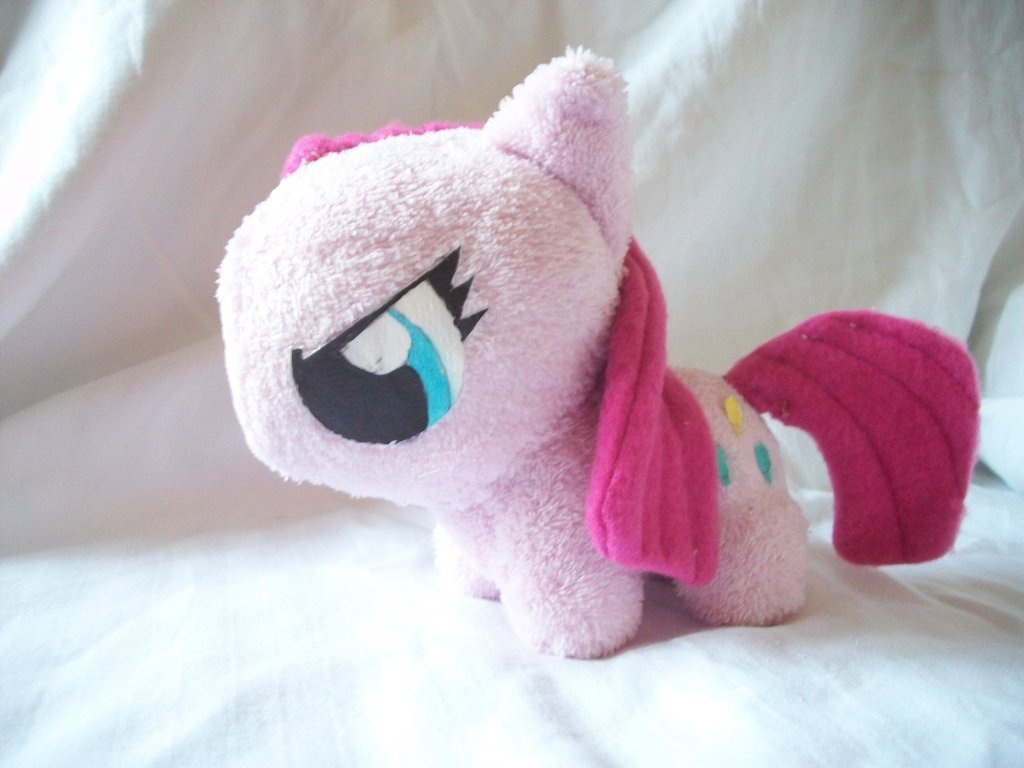Mlp Chibi Plush Pinkamena Mlp Chibi Plushie Version 1 by Levidash On