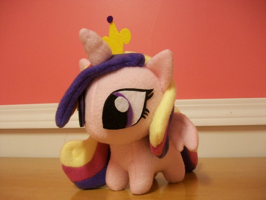 Mlp Chibi Plush Princess Cadance Chibi Pony Plushie Mlp Fim by