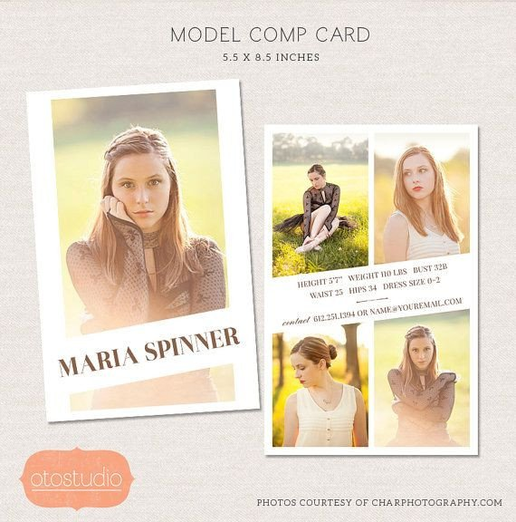 Model Comp Card Template 17 Best Ideas About Model P Card On Pinterest