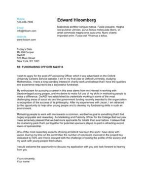Modern Cover Letter Template How to Write A Cover Letter [250 Free Templates]