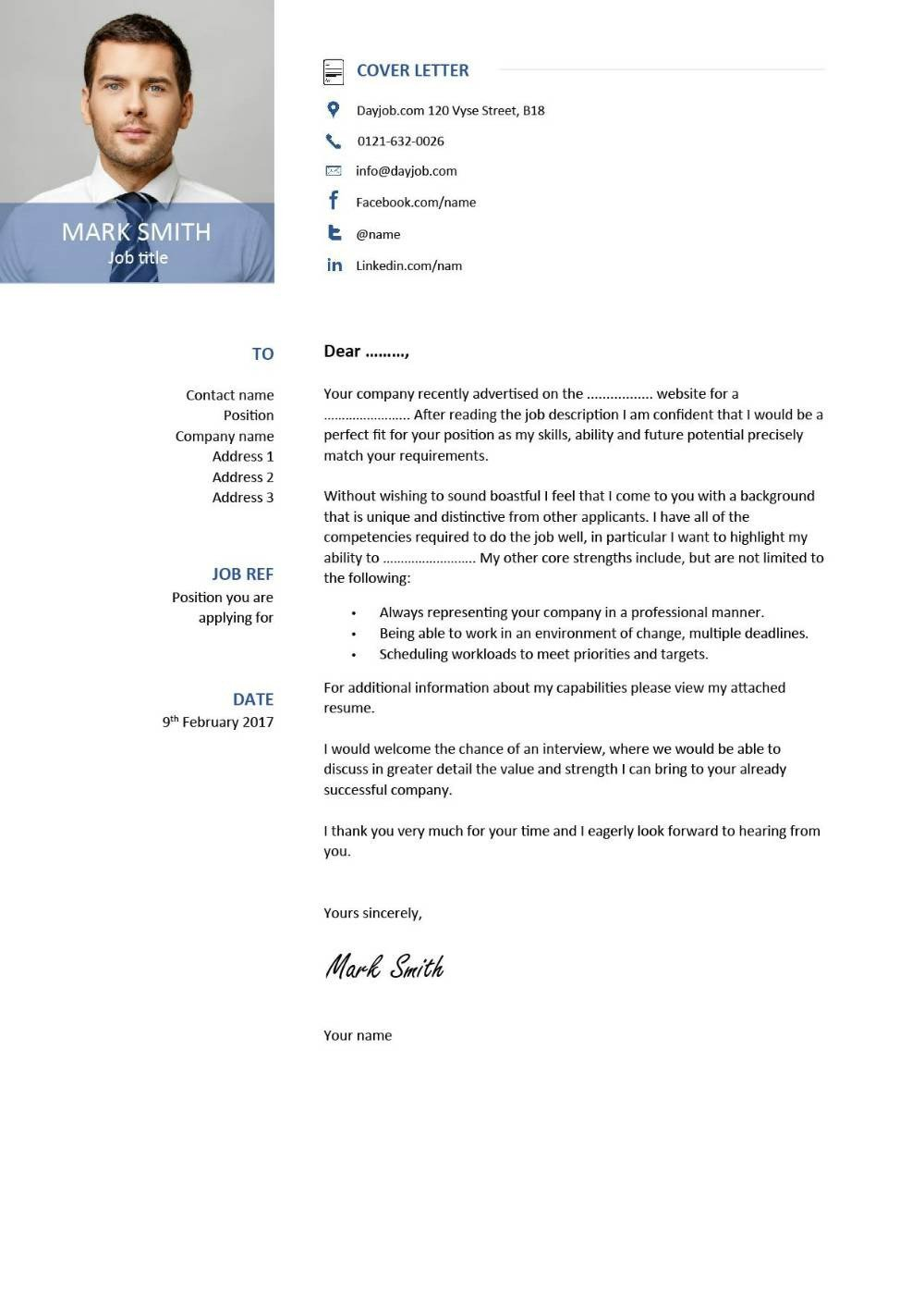 Modern Cover Letter Template Latest Cv Template Designs Resume Layout Font Creative