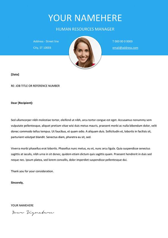 Modern Cover Letter Template Le Marais Free Modern Resume Template