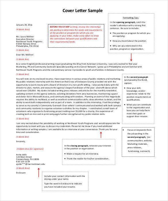 Modern Cover Letter Templates 51 Simple Cover Letter Templates Pdf Doc