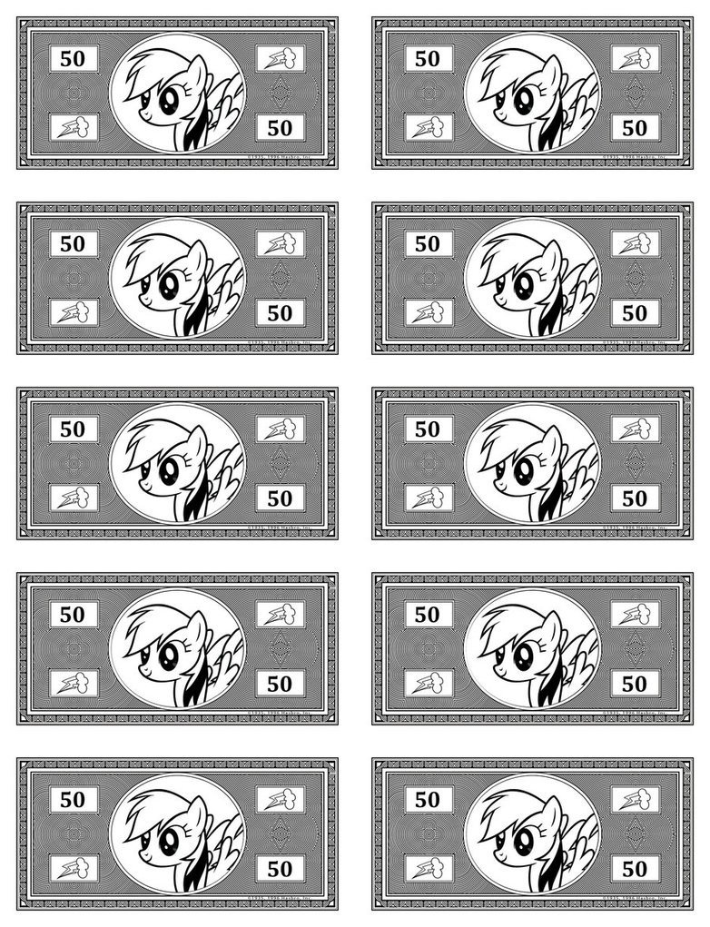 Monopoly Money Black and White Best S Of Blank Monopoly Money Blank Play Money