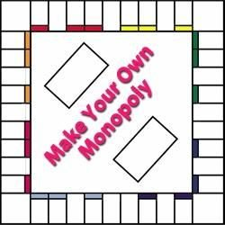 Monopoly Money Black and White Free Monopoly Template Fers Several Choices Such as