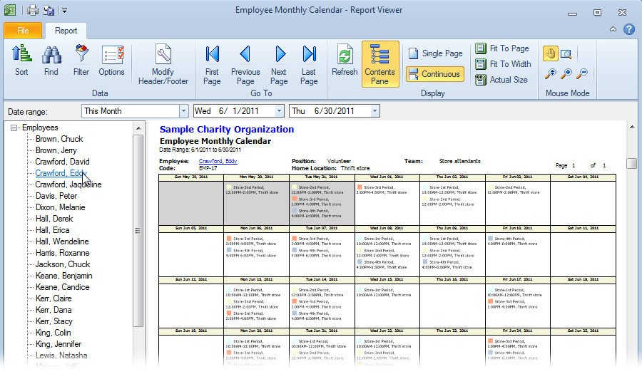 Monthly Employee Schedule Template Excel Monthly Employee Schedule Template Excel Schedule