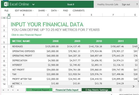 Monthly Financial Report Template Annual Financial Report Template for Excel Line