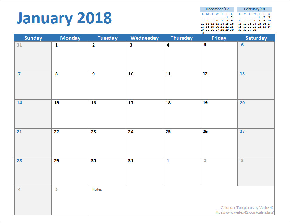 Monthly Schedule Template Excel Free Monthly Calendar Template for Excel