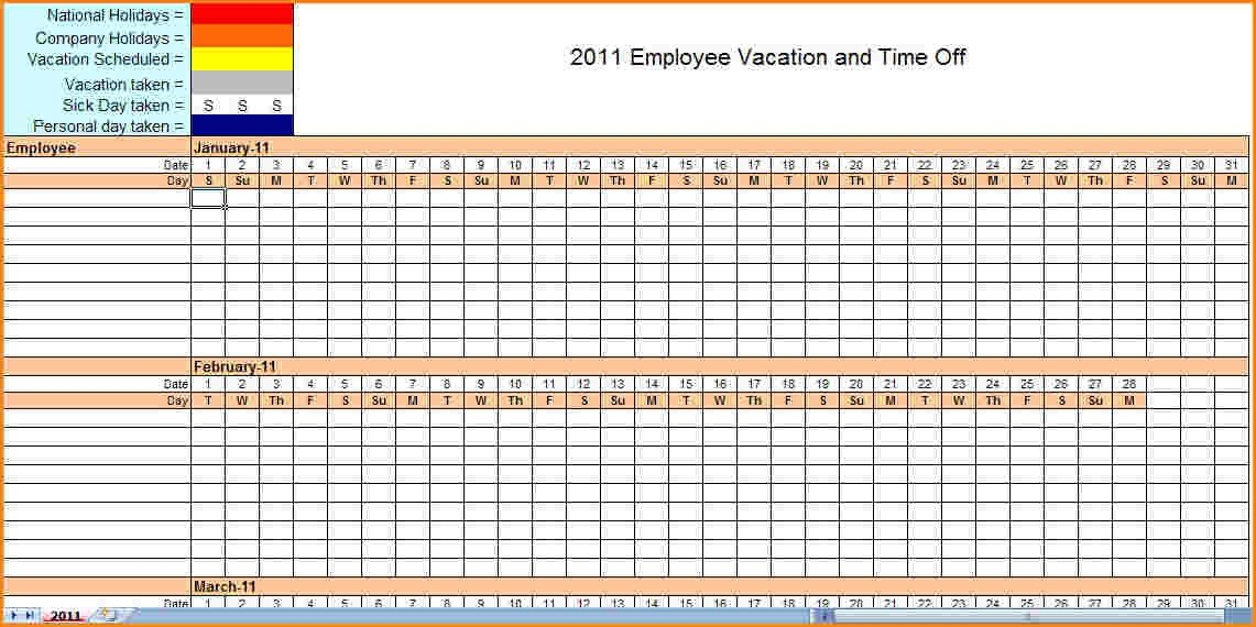 Monthly Schedule Template Excel Monthly Employee Schedule Template Excel