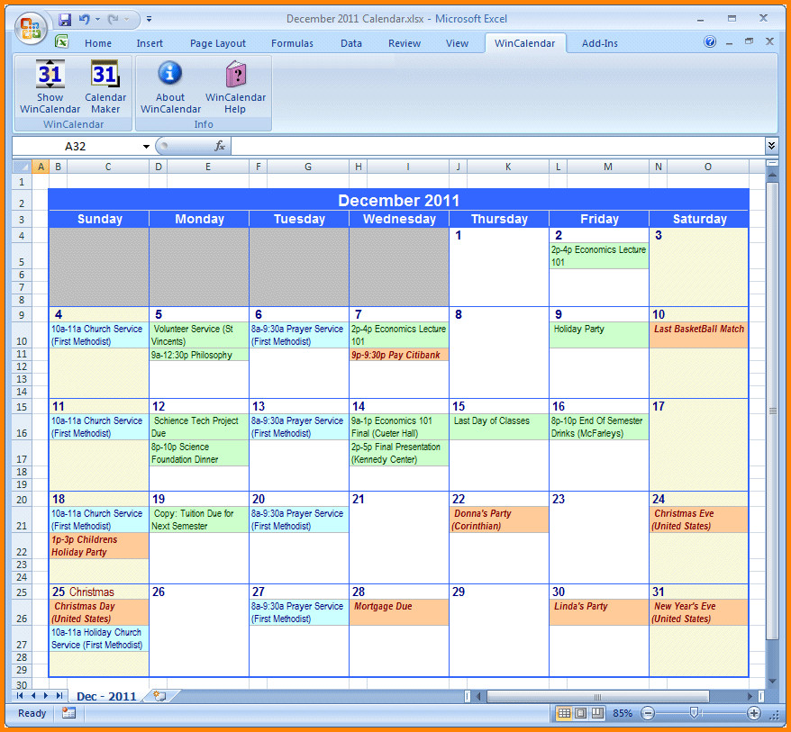 Monthly Schedule Template Excel Weekly Calendar Excel Driverlayer Search Engine