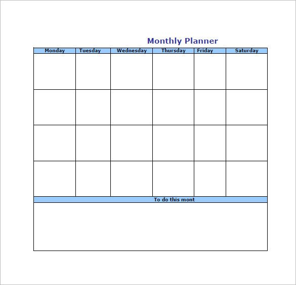 Monthly to Do List Template to Do List Template 12 Free Sample Example format