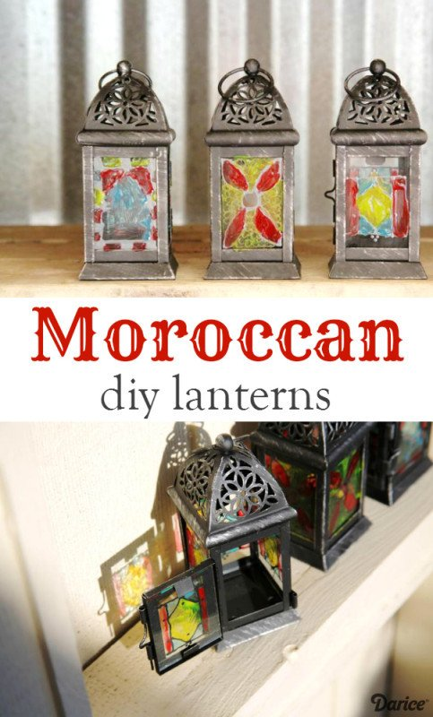 Moroccan Paper Lanterns Diy Moroccan Lanterns Tutorial Step by Step Darice