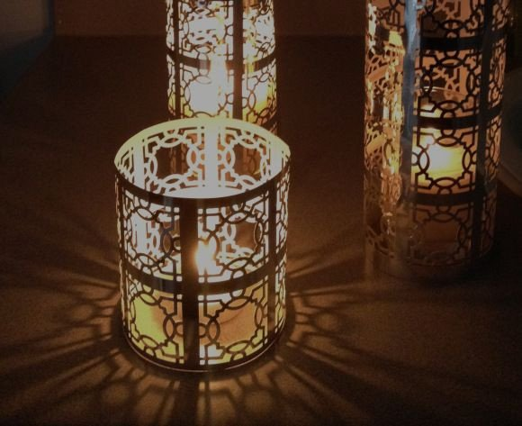 Moroccan Paper Lanterns Diy Moroccan Lanterns Using Metallic Paper and Decorative