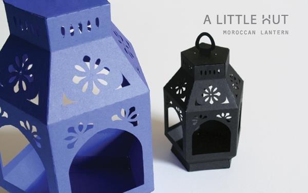 Moroccan Paper Lanterns I Love 2 Cut Paper Day 9 Patricia Zapata Moroccan