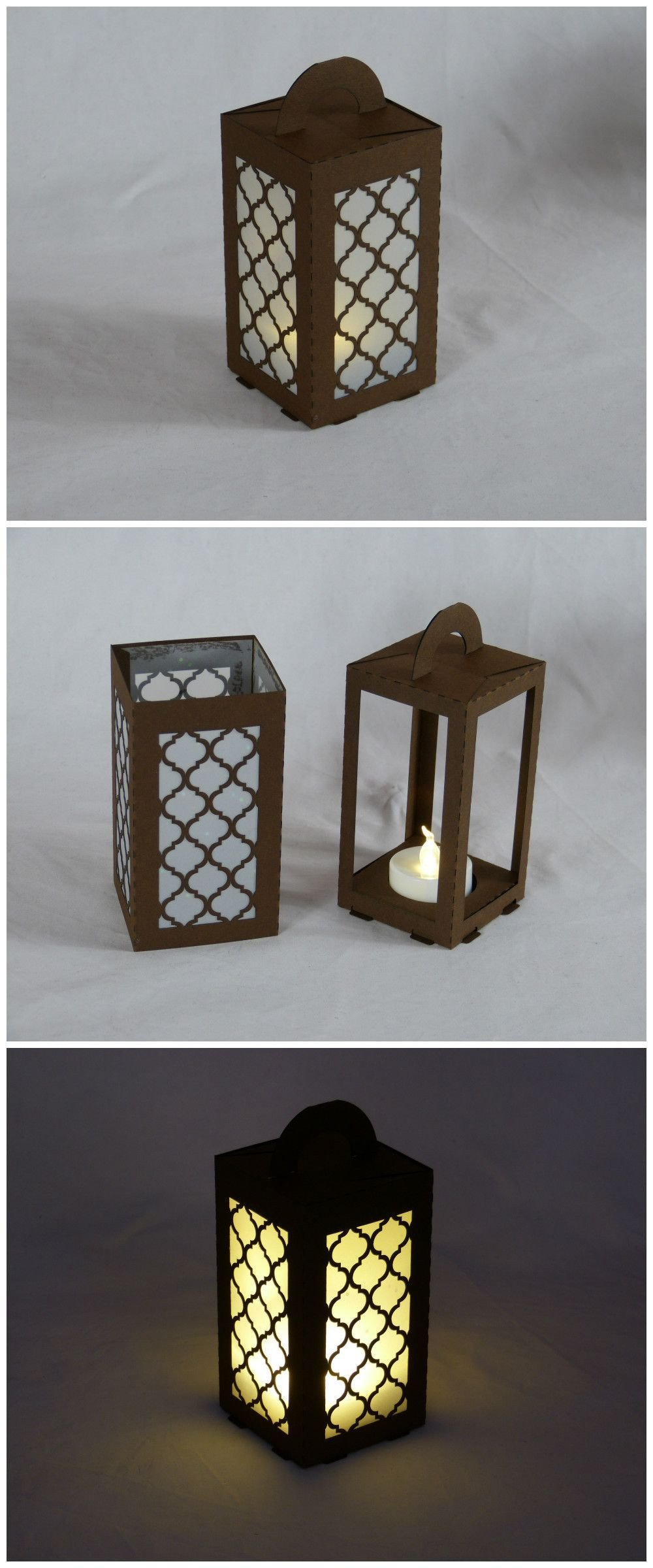"Moroccan Paper Lanterns Lasercut Paper Lantern for Led Tea Light ""moroccan"