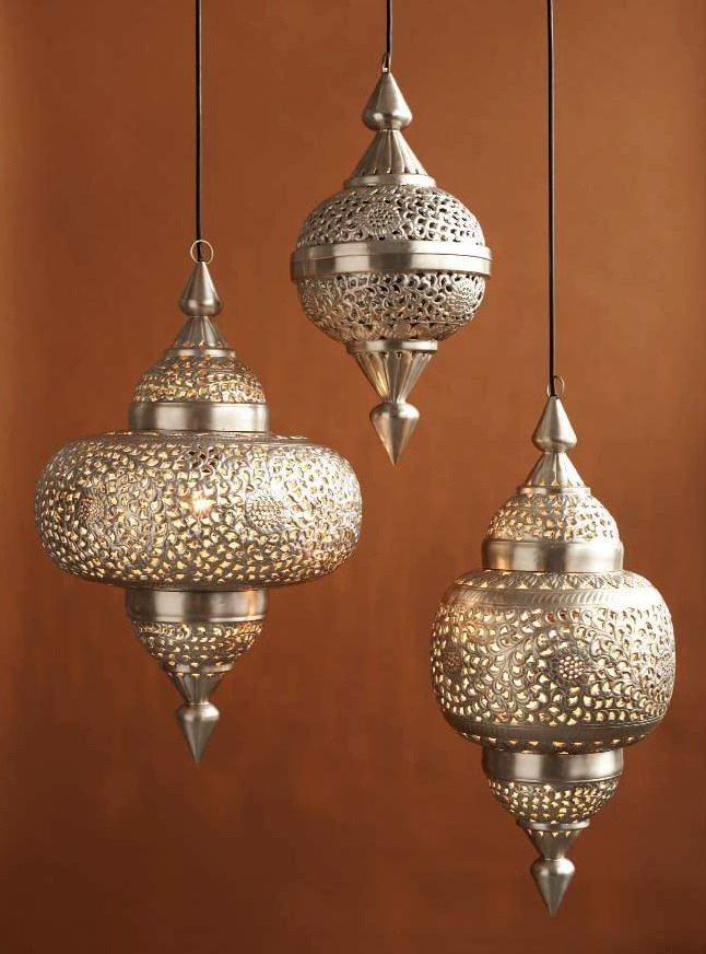 Moroccan Paper Lanterns Moroccan Ellipse Lanterns Set Of 3