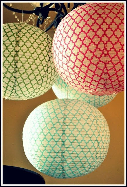 Moroccan Paper Lanterns Patterns